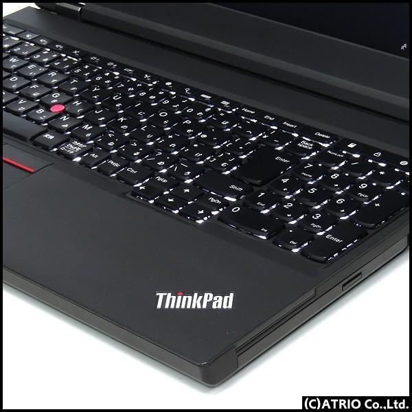 中古 ノートパソコン Lenovo ThinkPad W541 新品SSD搭載 Core i7 4710MQ 2.5GHz 8GB 512GB Windows10 15インチ フルHD Quadro K2100M LibreOffice|atriopc|04