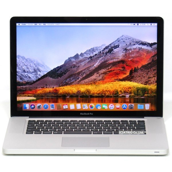 Apple MacBook Pro 2200/15.4 MD318J/Aの画像
