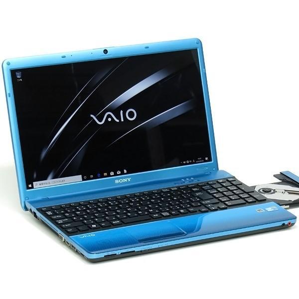 新品SSD&メモリ8GB SONY ソニー VAIO VPCEB39FJ Core i5 460M Blu-ray Windows10 15インチ LibreOffice テンキー 中古 ノートパソコン 本体|atriopc