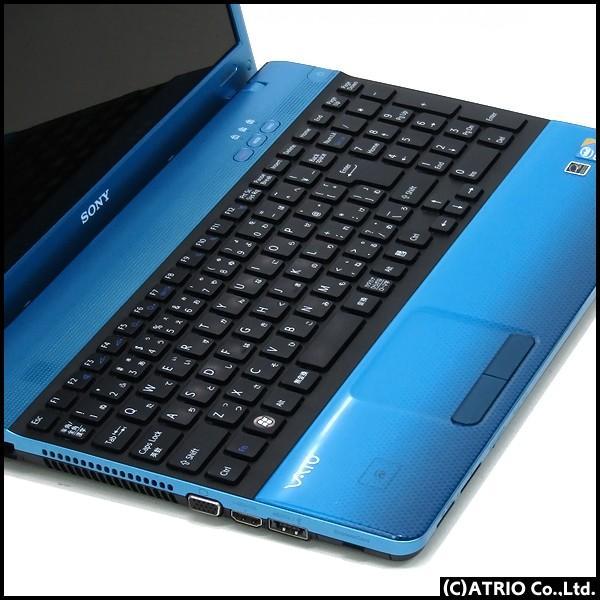新品SSD&メモリ8GB SONY ソニー VAIO VPCEB39FJ Core i5 460M Blu-ray Windows10 15インチ LibreOffice テンキー 中古 ノートパソコン 本体|atriopc|02