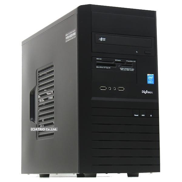 ゲーミングPC 大容量新品SSD Dospara Diginnos GeForce GTX1660 Core i7 4790 4コア8スレッド メモリ16GB Windows10 LibreOffice 中古 デスクトップ 本体|atriopc