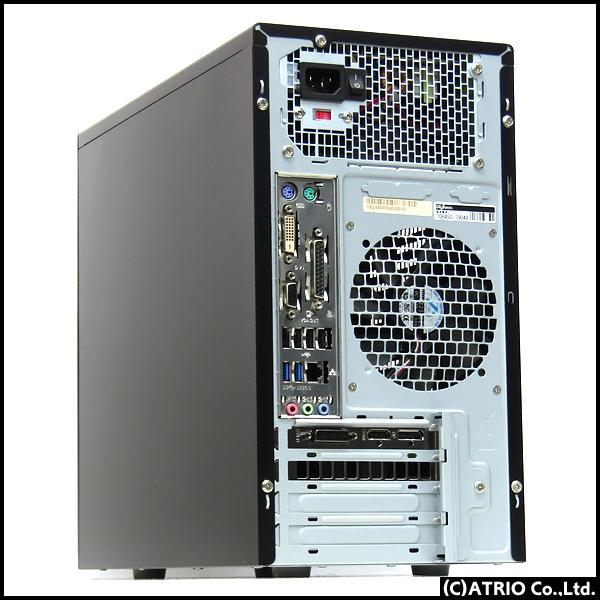 ゲーミングPC 大容量新品SSD Dospara Diginnos GeForce GTX1660 Core i7 4790 4コア8スレッド メモリ16GB Windows10 LibreOffice 中古 デスクトップ 本体|atriopc|02
