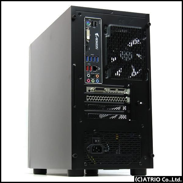 ゲーミングPC 自作機 8コア16スレッド Ryzen 7 2700X 3.7GHz 16GB 新品NVMeSSD 512GB Windows10 GeForce GTX1660 LibreOffice 中古 デスクトップ 本体 atriopc 02
