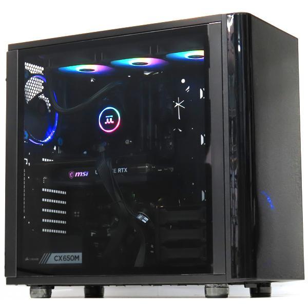 中古パソコンゲーミングPCデスクトップ自作水冷RTX3060Ryzen95950X32GB新品SSD512GBWindows10