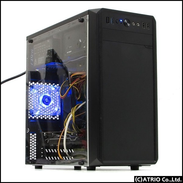 ゲーミングPC 自作機 GeForce GTX770 Core i7 3770K SSD+HDD 新品1TB Windows10 64bit Office 中古パソコン 送料無料 atriopc