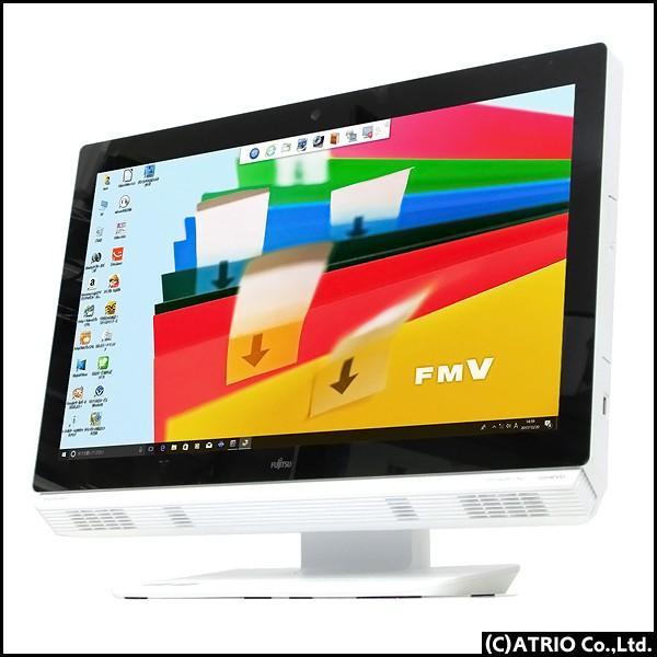 美品 一体型パソコン 富士通 ESPRIMO FH77/GD Core i7 2670QM 8GB 2TB Blu-ray Windows10 Windows7 64bit テレビ機能 Office 中古パソコン 送料無料|atriopc