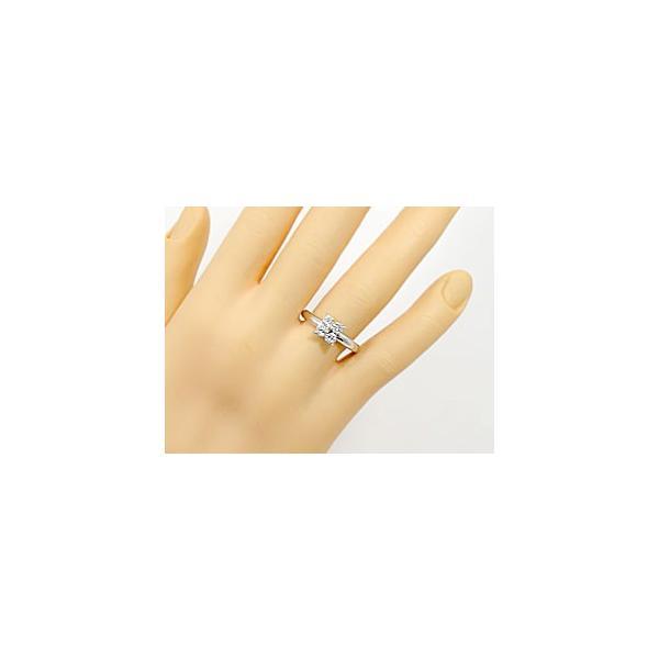 ピンキーリング プラチナリング ダイヤモンド 指輪 ダイヤモンドリング ダイヤ ストレート 母の日