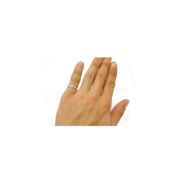 ピンキーリング プラチナ ダイヤモンド 一粒 ダイヤモンドリング ダイヤ ストレート 宝石 母の日