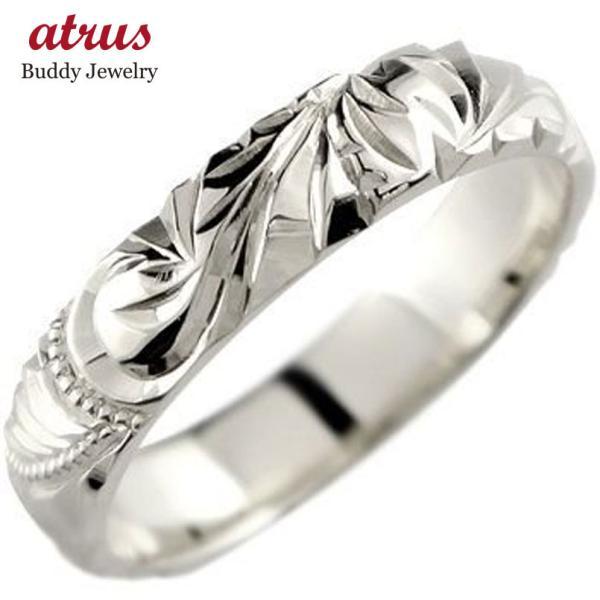 婚約指輪 安い ハワイアンジュエリー ハワイアンリング 指輪 プラチナリング エンゲージリング 婚約指輪 pt900 ストレート シンプル 人気  女性 母の日