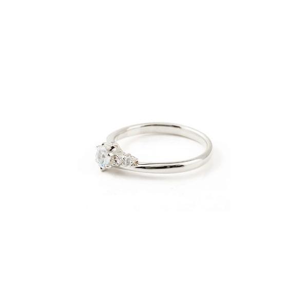 婚約指輪 エンゲージリング ブルームーンストーン ダイヤモンド リング 指輪 一粒 大粒 ホワイトゴールドk10 ストレート 10金 宝石  女性 ペア 母の日