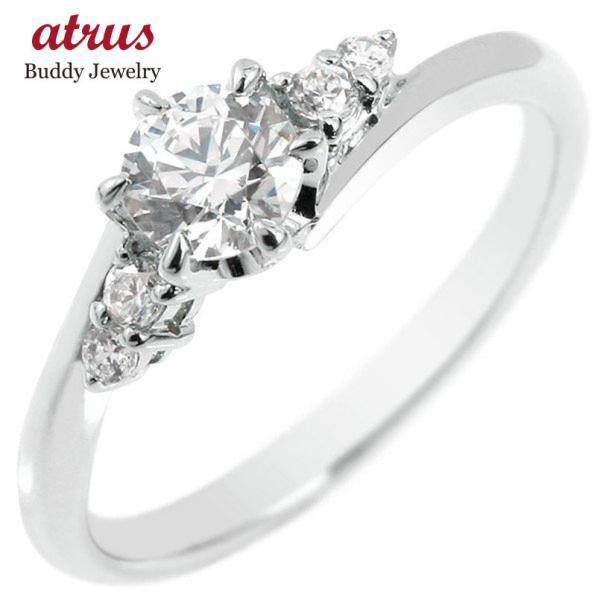 婚約指輪 ダイヤ 安い プラチナ リング ダイヤモンド 一粒 大粒 pt900 レディース 指輪 シンプル0.37ct プロポーズ 女性 人気 送料無料