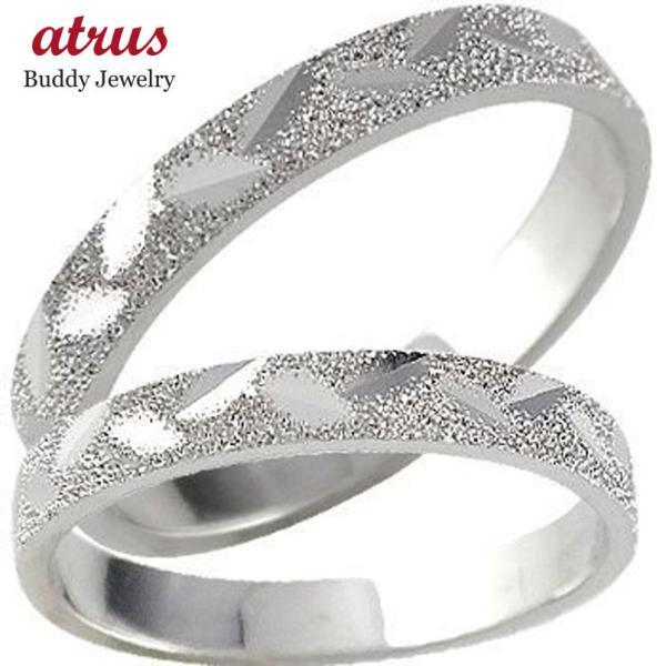 結婚指輪 安い 結婚指輪 プラチナ ペアリング 人気 マリッジリング ダイヤモンドカット ダイヤ ストレート カップル 母の日