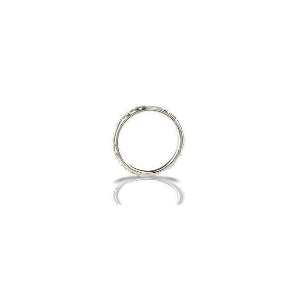 キュービックジルコニア リング シルバー 指輪 ピンキーリング ストレート 母の日