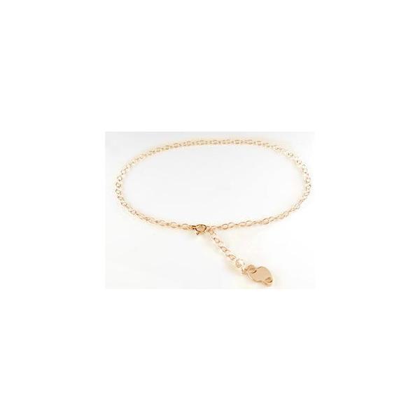ダイヤモンド アンクレット ナンバー 数字 一粒ダイヤモンド ピンクゴールドk18 18金 チェーン レディース ダイヤ 宝石 母の日