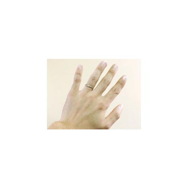 結婚指輪 ハワイアン ペアリング ハート 刻印 ホワイトゴールドk18 地金リング 18金 k18wg ストレート カップル シンプル 人気  プレゼント 女性 atrus 05