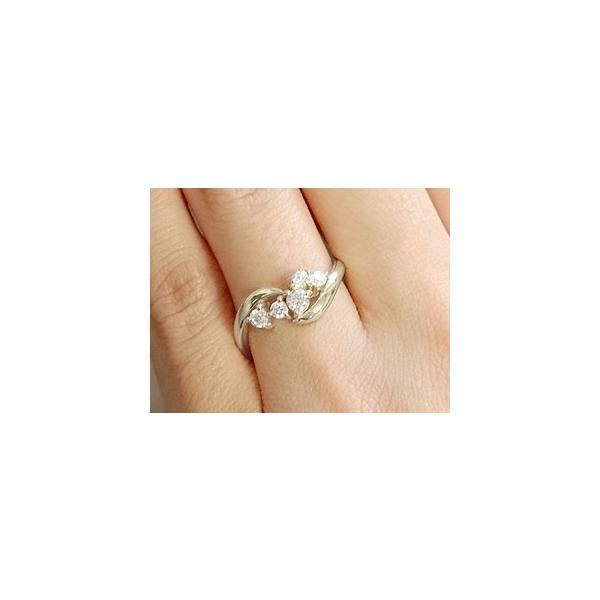 ピンキーリング ダイヤモンド リング プラチナ リング 指輪 ダイヤモンドリング ダイヤ ストレート 母の日