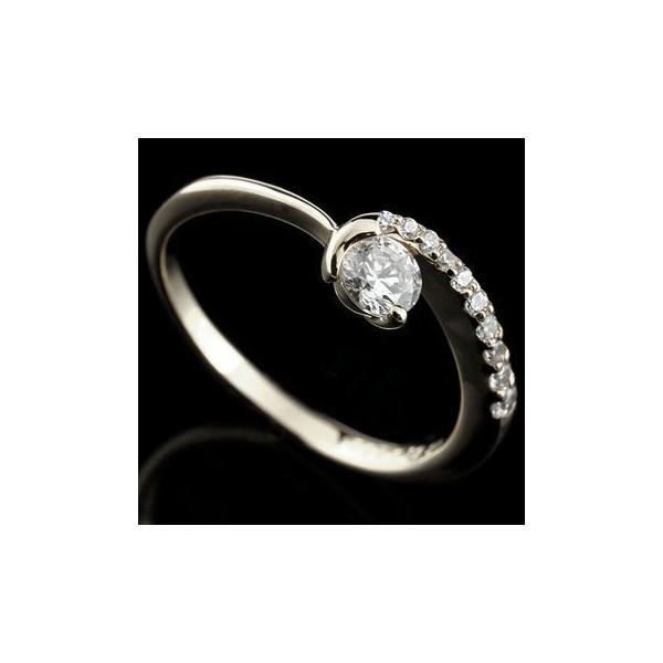 婚約指輪 安い エンゲージリング プラチナ ダイヤモンド 婚約指輪 リング 一粒 ダイヤ ストレート 母の日