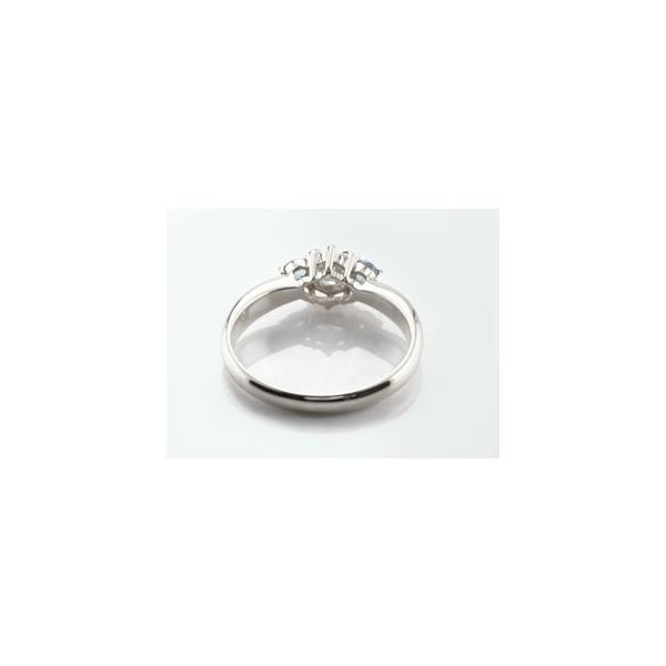 鑑定書付き 婚約指輪  エンゲージリング ダイヤモンド リング タンザナイト 指輪 大粒 ダイヤ ホワイトゴールドK18 18金 ダイヤ ストレート 宝石 母の日