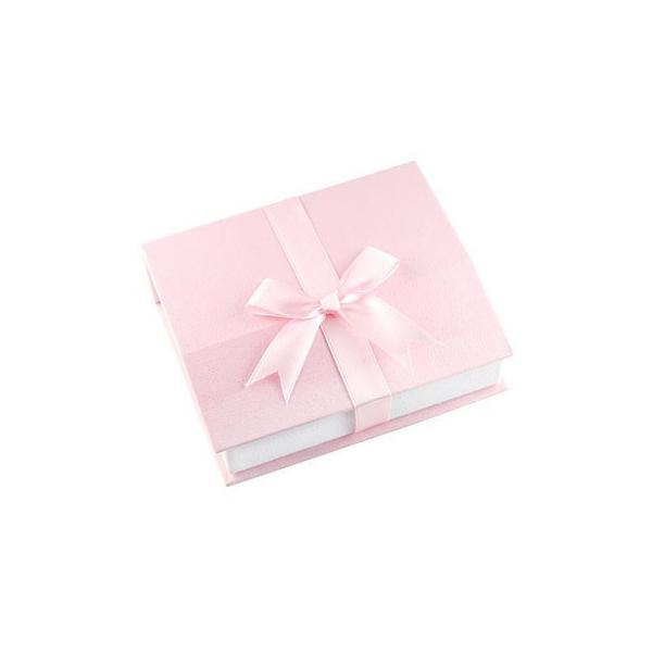 ジュエリーボックス マルチジュエリーケース ジュエリー収納箱 レディース リボン ピンク