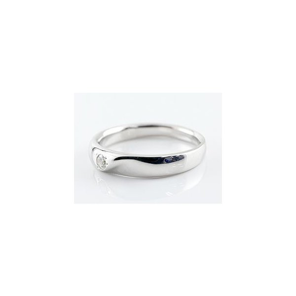 婚約指輪 エンゲージリング ダイヤモンド リング 一粒 指輪 ピンキーリング ダイヤ ダイヤモンドリング ホワイトゴールドk18 18金 レディース ストレート 母の日