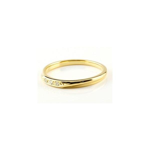 ペアリング ダイヤモンド 結婚指輪 マリッジリング プラチナ イエローゴールドk18 つや消し pt900 18金 ダイヤ スイートペアリィー 秋 冬|atrus|02