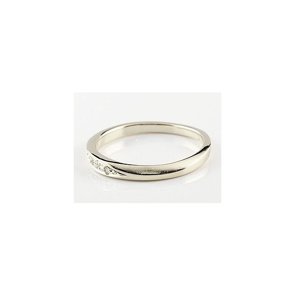 ペアリング プラチナ ダイヤモンド 結婚指輪 マリッジリング シンプル つや消し pt900 ダイヤ ストレート スイートペアリィー カップル Xmas Christmas|atrus|02