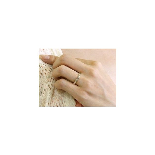ペアリング プラチナ ダイヤモンド 結婚指輪 マリッジリング シンプル つや消し pt900 ダイヤ ストレート スイートペアリィー カップル Xmas Christmas|atrus|03