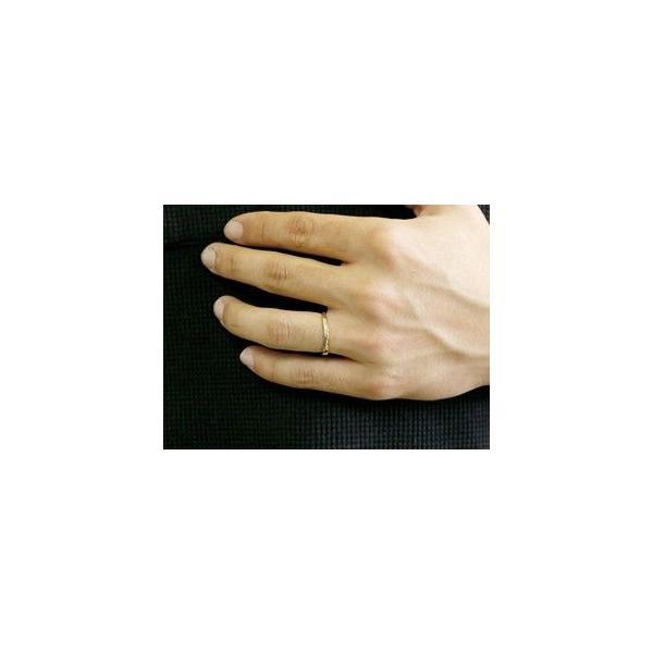 ペアリング プラチナ ダイヤモンド 結婚指輪 マリッジリング シンプル つや消し pt900 ダイヤ ストレート スイートペアリィー カップル|atrus|05