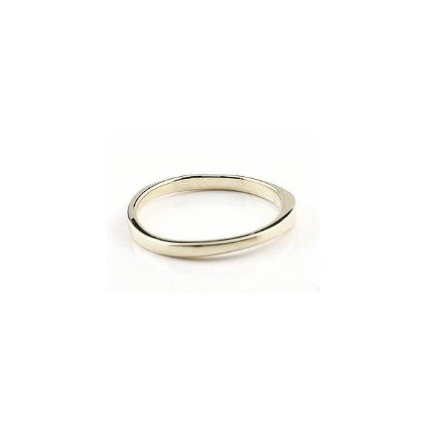 ペアリング 結婚指輪 マリッジリング 地金リング イエローゴールドk18 ホワイトゴールドk18 つや消し 18金 ストレート スイートペアリィー 母の日
