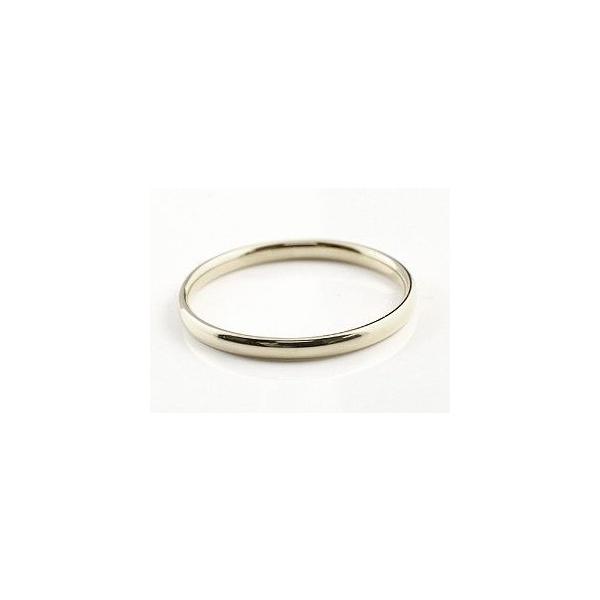 ペアリング 結婚指輪 マリッジリング 地金リング リーガルタイプ ホワイトゴールドk18 シンプル 18金 結婚式 ストレート カップル  女性 母の日