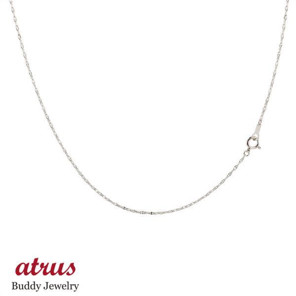 ネックレス メンズ ロングネックレス プラチナ チェーン ペタルチェーン 鎖 100cm pt850 地金ネックレス 男性用 送料無料