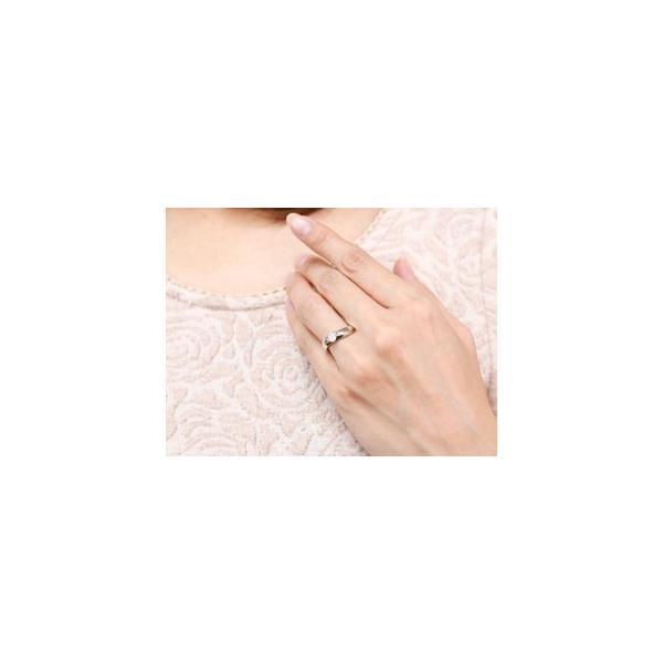 ピンキーリング 鑑定書付き ダイヤモンド リング 一粒 指輪 ダイヤ ダイヤモンドリング ホワイトゴールドk18 大粒 0.30ct SIクラス 18金 レディース ストレート
