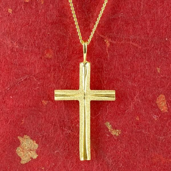 24金 ネックレス メンズ 純金 24金 ゴールド クロス 十字架 24K ペンダント ゴールド k24 メンズ 男性用  シンプル 送料無料|atrus