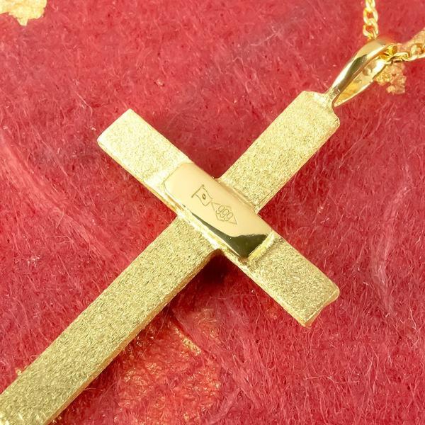 24金 ネックレス メンズ 純金 24金 ゴールド クロス 十字架 24K ペンダント ゴールド k24 メンズ 男性用  シンプル 送料無料|atrus|02