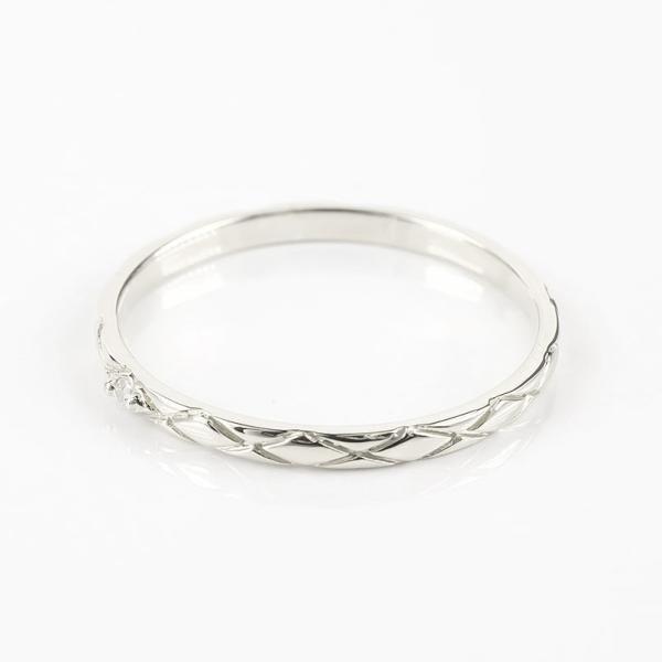 結婚指輪 安い ペアリング プラチナ ダイヤモンド 結婚指輪 マリッジリング リング 一粒 pt900 華奢 アンティーク スイートペアリィー カップル  最短納期|atrus|02