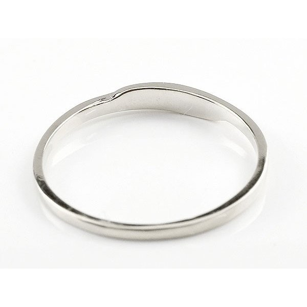 ピンキーリング ホワイトゴールドk10 10金 極細 華奢 スパイラル 指輪 ばぁばリング お誕生日 敬老の日 長寿のお祝い ストレート 2.3 母の日