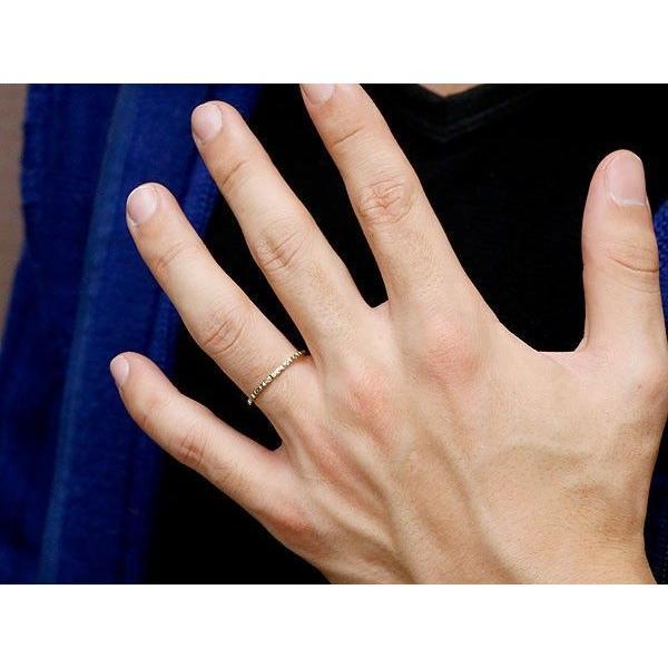 ペアリング 結婚指輪 マリッジリング イエローゴールドk18 ホワイトゴールドk18 k18wg 華奢 アンティーク 18金 スイートペアリィー  最短納期 母の日