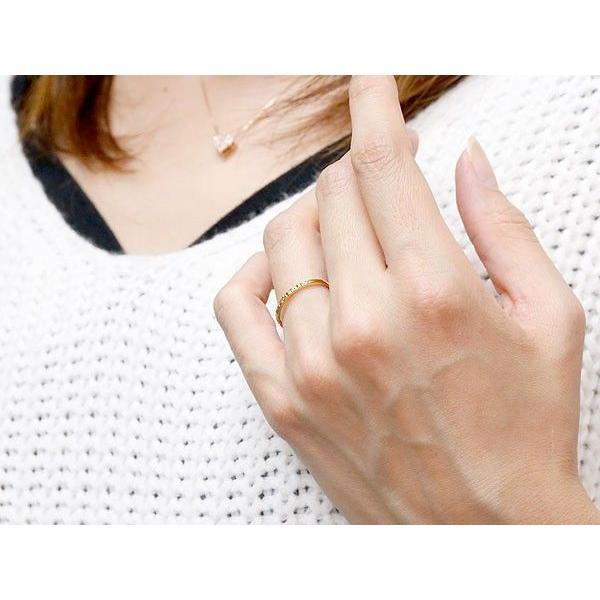 ペアリング 結婚指輪 マリッジリング イエローゴールドk10 ホワイトゴールドk10 k10wg 華奢 アンティーク 10金 スイートペアリィー 母の日