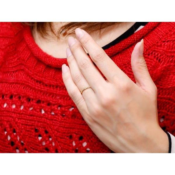 ペアリング 結婚指輪 マリッジリング ハート ピンクゴールドk18 ホワイトゴールドk18 華奢 アンティーク 18金 スイートペアリィー 母の日