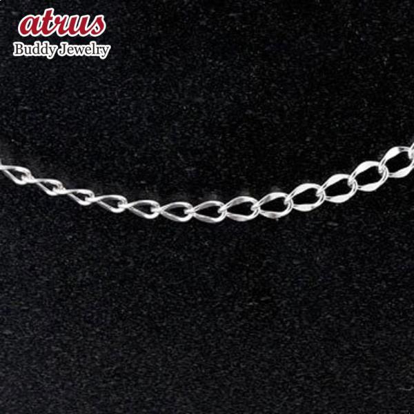 喜平 シルバー ネックレス チェーン 平カット 3.8ミリ幅 45cm 鎖 レディース sv925 キヘイ 地金 ネックレス 母の日