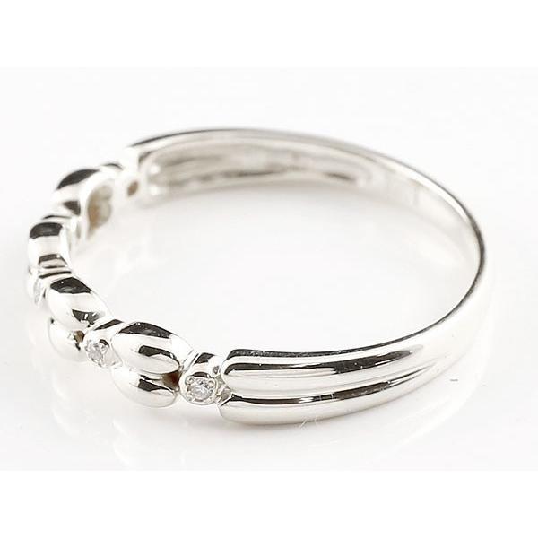 ピンキーリング シルバーリング ダイヤモンド シンプル 指輪 華奢リング 重ね付け 指輪 細め 細身 sv925 アンティーク レディース 母の日