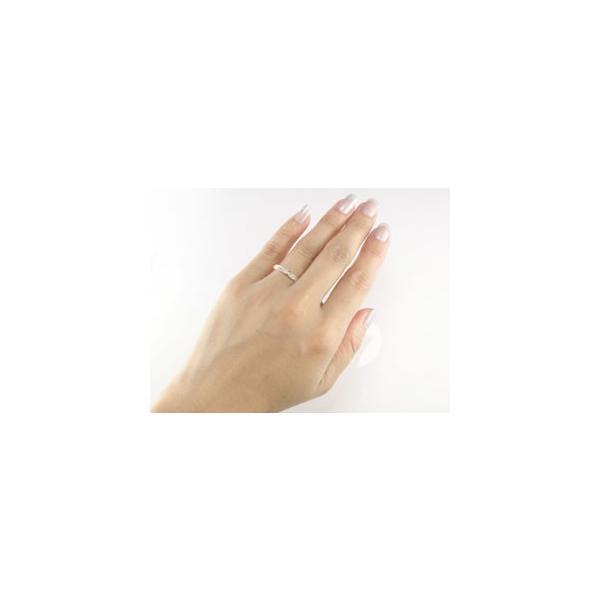 レディース ペアリング マリッジリング 結婚指輪 ダイヤモンド エタニティ ピンクゴールドk18 エタニティリング 18金 ダイヤ ストレート トラスト 母の日
