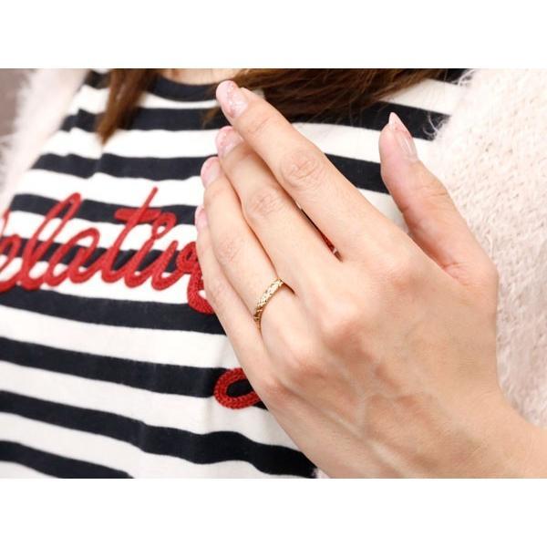 ペアリング 結婚指輪 マリッジリング ピンクゴールドk18 プラチナ900 pt900 アンティーク 結婚式 ストレート 18金 地金リング カップル 母の日