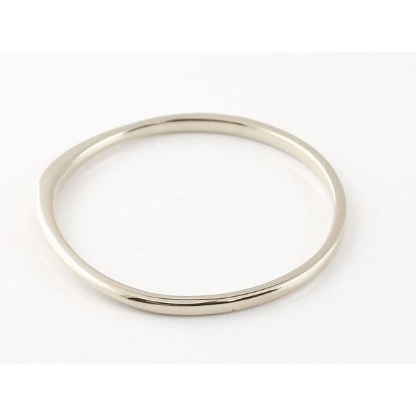 スイートペアリィー インフィニティ ペアリング 結婚指輪 ダイヤモンド ピンクゴールドk10 ホワイトゴールドk10 ストレート一粒 10金 華奢 ストレート 母の日