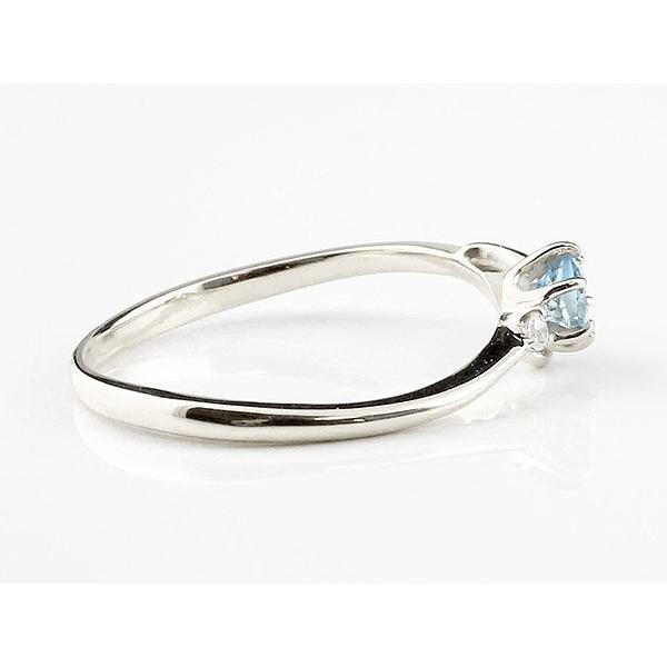 エンゲージリング イニシャル ネーム F 婚約指輪 ブルートパーズ ダイヤモンド ホワイトゴールドk10 指輪 アルファベット 10金 レディース 11月誕生石  女性