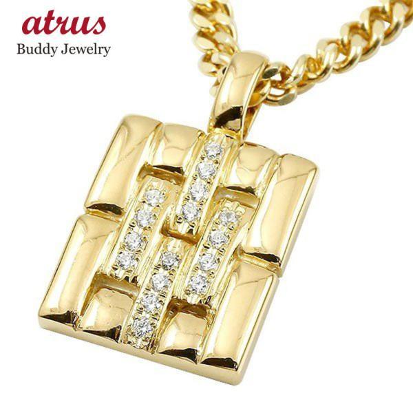 18金 ネックレス ダイヤ メンズ トップ ゴールド 18k 喜平用 ダイヤモンド k18 メタルバンド 時計 ペンダント 男性 人気 シンプル 送料無料