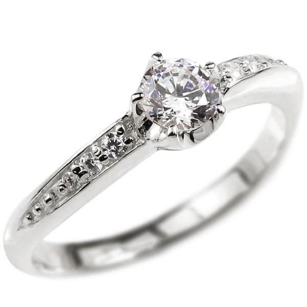 鑑定書付 SIクラス プラチナリング ダイヤモンド エンゲージリング ダイヤ 0.3ct 一粒 大粒 指輪 ピンキーリング pt900 婚約指輪  レディース 母の日