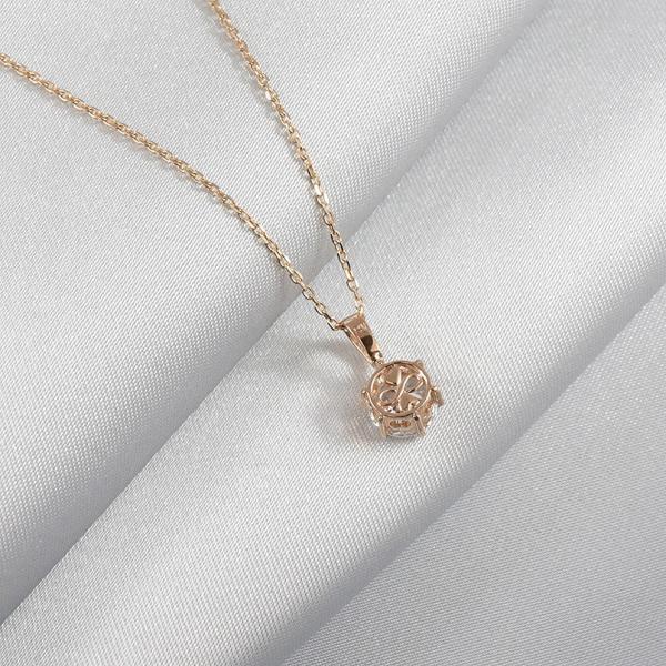 ネックレス レディース 一粒 ダイヤモンド 大粒 1カラットサイズ相当 スワロフスキーキュービック ハート インフィニティ クローバー シルバー925 送料無料 atrus 11