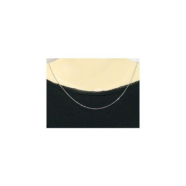 ネックレス メンズ プラチナ ベネチアン チェーン レディース 45cm 地金ネックレス pt850 あすつく 送料無料|atrus|04