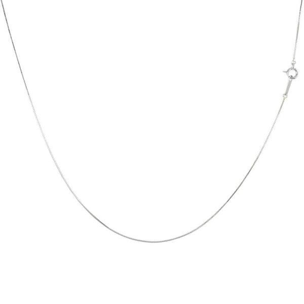 ネックレス メンズ 18金 ネックレス メンズ ロングネックレス ホワイトゴールドk18 ベネチアンチェーン 60cm 18金 地金男性 シンプル 人気 送料無料